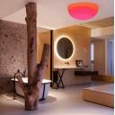 Потолочный светильник LED ПОЛУСФЕРА 60 см. разноцветный RGB с пультом ДУ IP65 220V