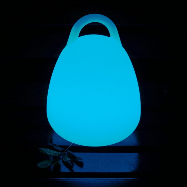 Садовый уличный светильник с ручкой LED HANDLE c разноцветной RGB подсветкой и пультом ДУ IP65 220V — Купить в интернет-магазине