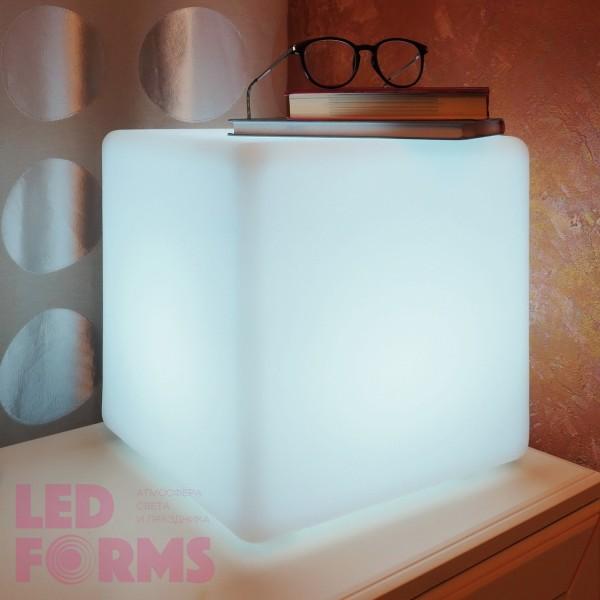 Светильник куб GLOW CUBE 30 см. светодиодный белый IP65 220V — Купить в интернет-магазине LED Forms