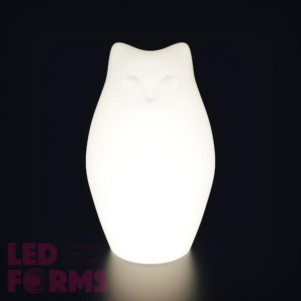 Беспроводная лампа-ночник с аккумулятором Котёнок LED KITTY разноцветная RGB с пультом USB IP65 — Купить в интернет-магазине LED