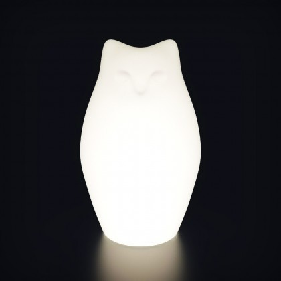 Садовый уличный светильник Котёнок LED KITTY c разноцветной RGB подсветкой и пультом ДУ IP65 220V — Купить в интернет-магазине L