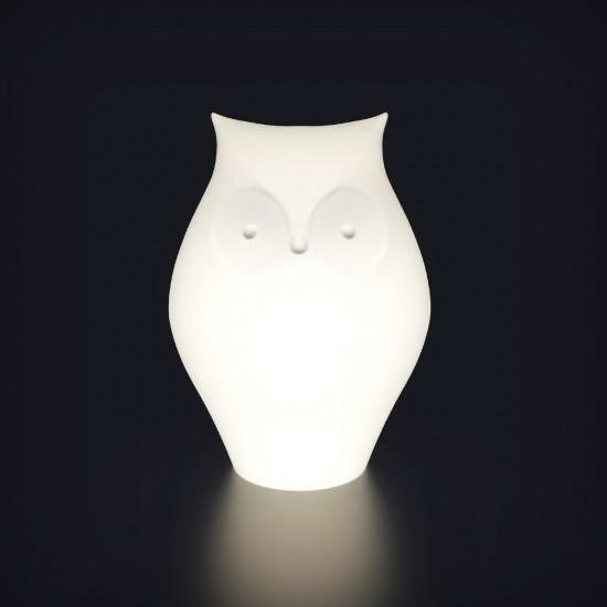 Настольная лампа Сова LED OWL с разноцветной RGB подсветкой и пультом ДУ IP65 220V — Купить в интернет-магазине LED Forms