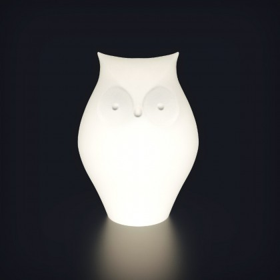 Беспроводная лампа-ночник с аккумулятором Сова LED OWL разноцветная RGB с пультом USB IP65 — Купить в интернет-магазине LED Form