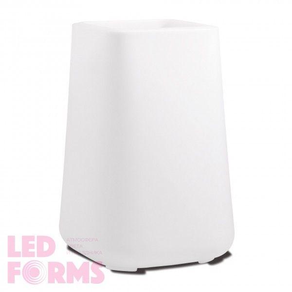 Кашпо светящееся (цветочница) LED Venlo L, высота 103 см., светодиодное, разноцветное (RGB), пылевлагозащита IP65