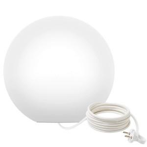 Светильник шар LED MOONBALL 30 см. светодиодный белый IP65 220V