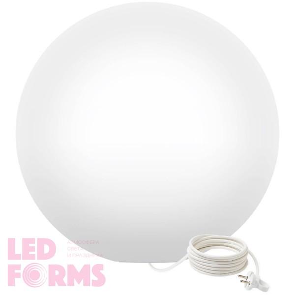 Светильник шар LED MOONBALL 100 см. светодиодный белый IP65 220V — Купить в интернет-магазине LED Forms