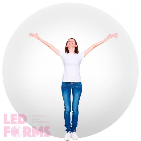 Светильник шар LED BALL 200 см. светодиодный белый IP65 220V — Купить в интернет-магазине LED Forms