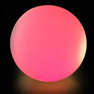 Светильник шар беспроводной LED MOONBALL 100 см. разноцветный RGB с аккумулятором и пультом USB IP68
