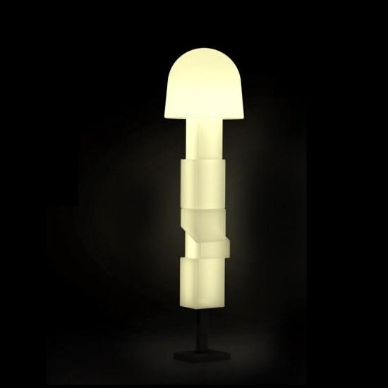 Светильник напольный (торшер) LED Borne Bright, высота 190 см., светодиодный, цвет тёплый белый, пылевлагозащита IP65