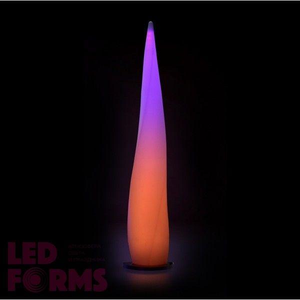 Светильник напольный (торшер) LED Flame L, высота 189,5 см., светодиодный, разноцветный (RGB), пылевлагозащита IP65