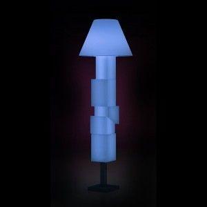 Светильник напольный (торшер) LED Breda, высота 187 см., светодиодный, разноцветный (RGB), пылевлагозащита IP65