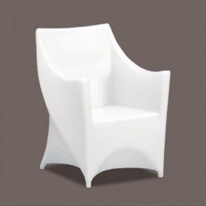 Кресло светящееся (светомебель) LED Helmond 2, светодиодное, разноцветное (RGB), IP65
