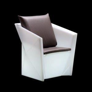 Кресло светящееся (светомебель) LED Borne, светодиодное, разноцветное (RGB), IP65