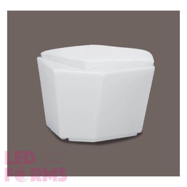 Столик кофейный светящийся (светомебель) LED Borne 1, светодиодный, разноцветный (RGB), пылевлагозащита IP65