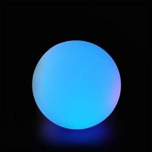Шар светящийся беспроводной LED, диам. 25 см., разноцветный (RGB), пылевлагозащита IP68, встроенный аккумулятор