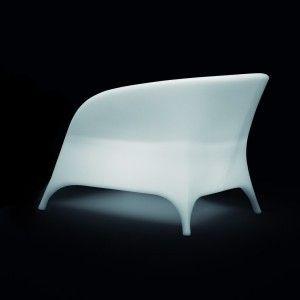 Кресло светящееся (светомебель) LED Trendy 1, светодиодное, разноцветное (RGB), IP65