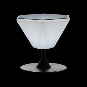 Столик кофейный светящийся (светомебель) LED Borne 2, светодиодный, разноцветный (RGB), IP65