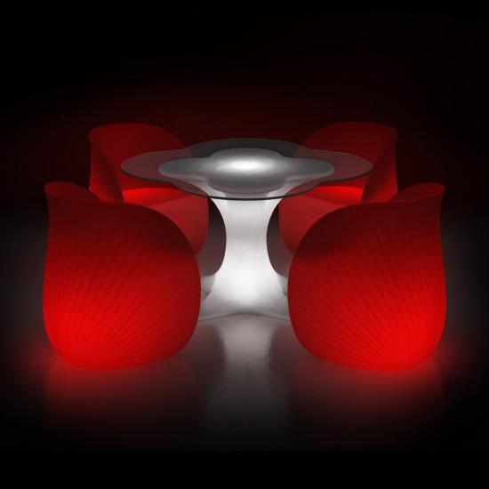 Кресло светящееся (светомебель) LED Trendy Waves, светодиодное, разноцветное (RGB), пылевлагозащита IP65