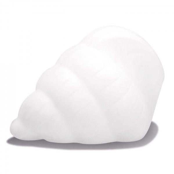 Световая фигура LED Shell 1 Bright (Ракушка), светодиодная, одноцветная (тёплый белый), пылевлагозащита IP44, 220V
