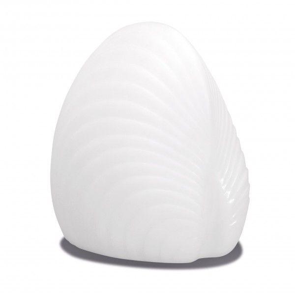 Световая фигура LED Shell 2 (Ракушка), светодиодная, разноцветная (RGB), пылевлагозащита IP44, встроенный аккумулятор