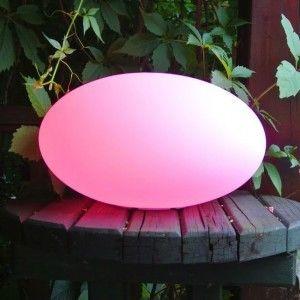 Световая фигура LED Egg (Яйцо), светодиодная, разноцветная (RGB), пылевлагозащита IP65, 220V