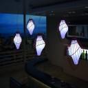 Светильник подвесной LED Embryo Sky, светодиодный, разноцветный (RGB), пылевлагозащита IP65