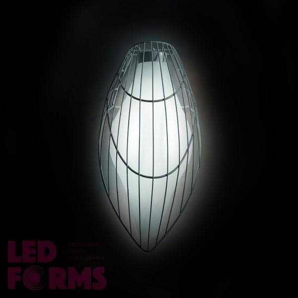 Светильник настенный (бра) LED Embryo Bright, светодиодный, цвет тёплый белый, пылевлагозащита IP65
