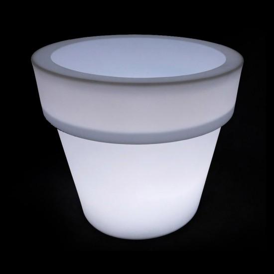 Кашпо светящееся LED Pot B, 79*46*72 см., светодиодное, цвет белый, 220V