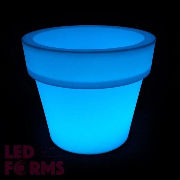 Кашпо светящееся LED Pot B, 79*46*72 см., светодиодное, разноцветное (RGB), 220V