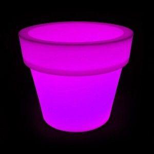 Кашпо светящееся LED Pot B, 79*46*72 см., светодиодное, разноцветное (RGB), встроенный аккумулятор