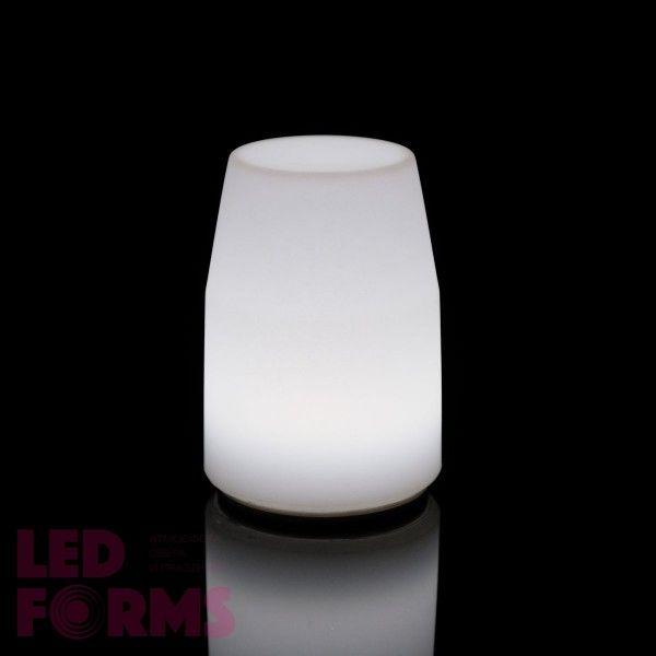 Лампа настольная LED Lantern, 14*10*19 см., светодиодная, цвет белый, 220V