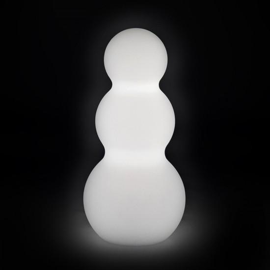 Светильник праздничный LED Снеговик, высота 46 см., светодиодный, цвет белый, 220V