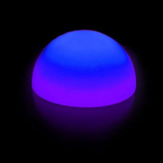 Полусфера светящаяся LED, диам. 30 см., разноцветная (RGB), пылевлагозащита IP65, 220V