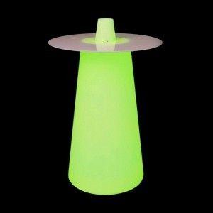 Стол барный LED Playboy, 63*36*110 cм., светодиодный, разноцветный (RGB), встроенный аккумулятор