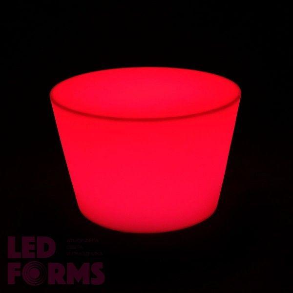 Стол LED Novel Mini, 60*80*40 см., светодиодный, разноцветный (RGB), встроенный аккумулятор