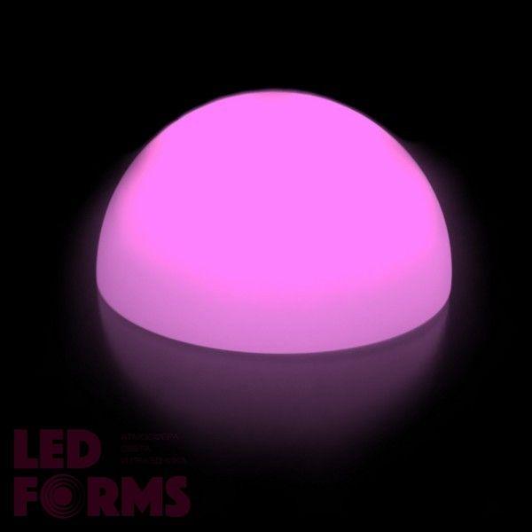Полусфера светящаяся LED, диам. 40 см., разноцветная (RGB), пылевлагозащита IP65, 220V