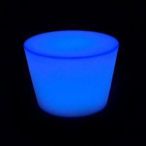 Стол LED Oval Uni, 60*80*50 см., светодиодный, разноцветный (RGB), с аккумулятором