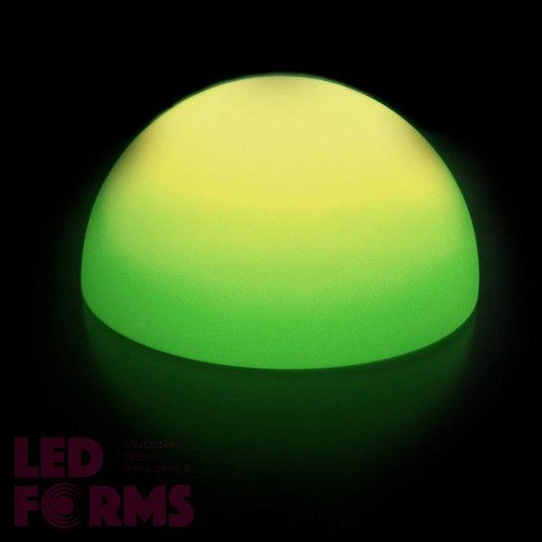 Полусфера светящаяся LED, диам. 60 см., разноцветная (RGB), пылевлагозащита IP65, 220V