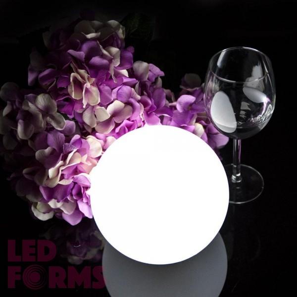 Шар светящийся LED, диам. 15 см., разноцветный (RGB), пылевлагозащита IP65, 220V