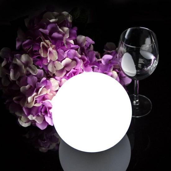 Светильник шар LED JELLYMOON 15 см. разноцветный RGB с пультом ДУ IP65 220V — Купить в интернет-магазине LED Forms
