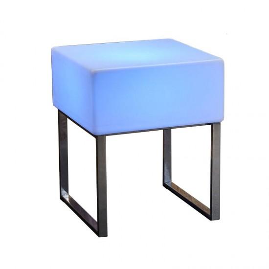Светящийся стол LED BINGO 60x60x75 см. c разноцветной RGB подсветкой и пультом ДУ IP65 220V — Купить в интернет-магазине LED For
