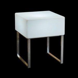 Стол светящийся LED Quadro, 60*60*75 см., светодиодный, цвет белый, 220V