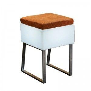 Светящийся стул LED BINGO 40x40x60 см. с белой светодиодной подсветкой IP65 220V