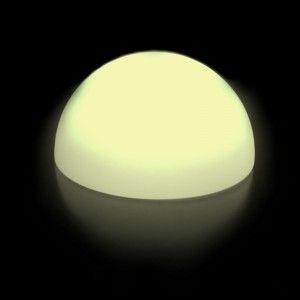 Светящаяся полусфера LED Hemisphere 40 см., одноцветная белая, IP65