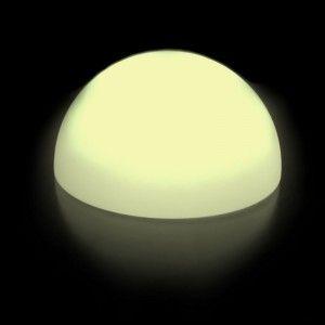Полусфера светящаяся LED, диам. 50 см., цвет тёплый или холодный белый, IP65, 220V