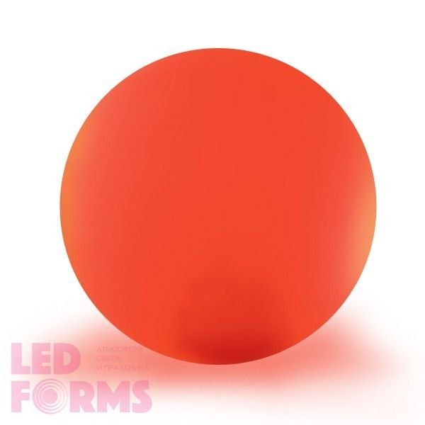 Шар светящийся LED, диам. 60 см., разноцветный (RGB), пылевлагозащита IP65, 220V