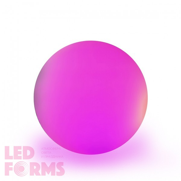 Шар светящийся LED, диам. 30 см., разноцветный (RGB), пылевлагозащита IP65, 220V