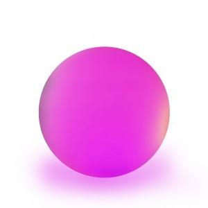 Шар светящийся LED, диам. 30 см., разноцветный (RGB), IP65, 220V