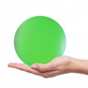 Светящийся шар LED Ball 15 см., с аккумулятором, разноцветный RGB, с пультом ДУ, IP68