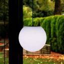 Шар подвесной светящийся LED, диам. 20 см., разноцветный (RGB), пылевлагозащита IP65, 220V